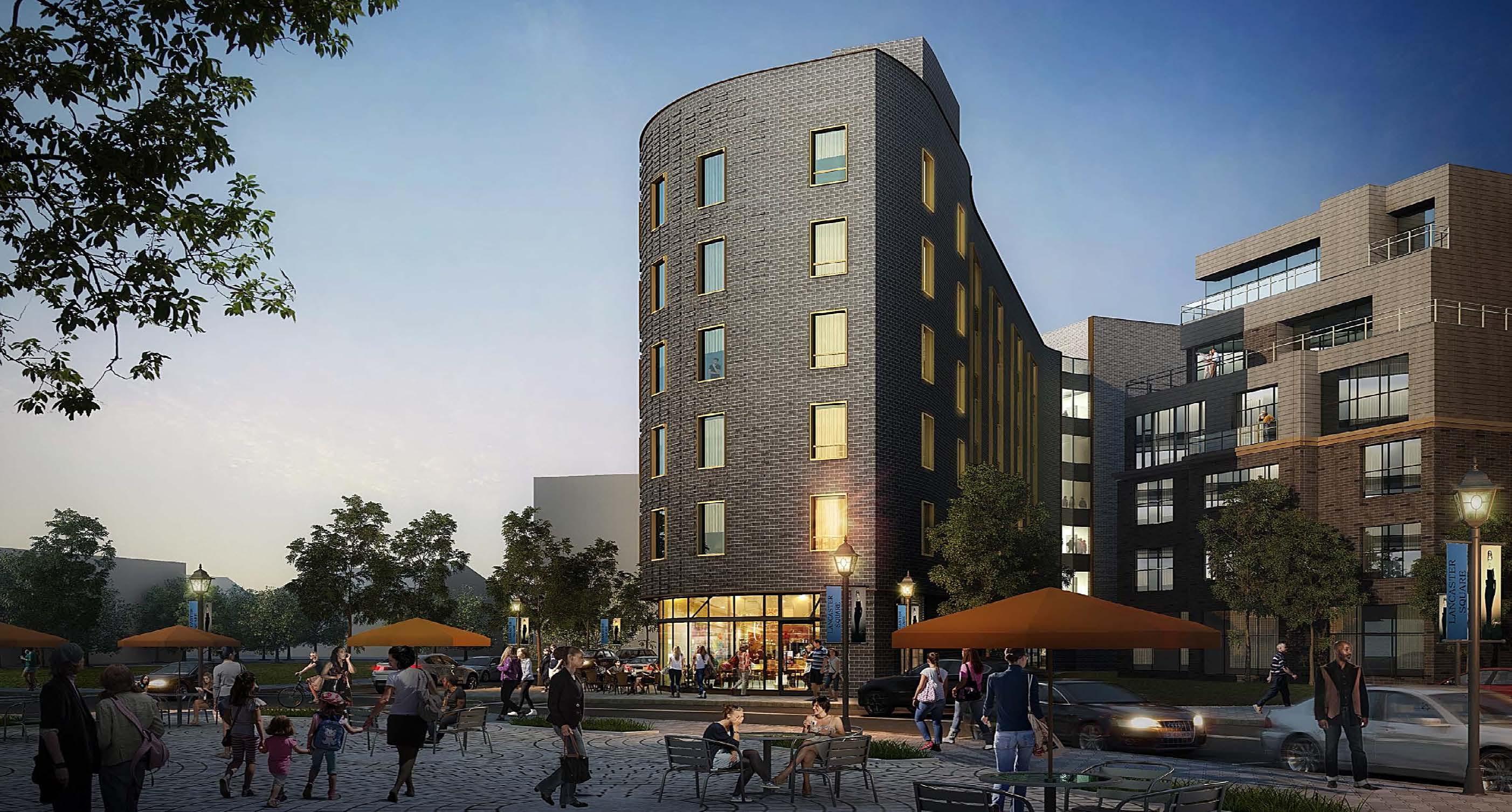 Lancaster Square at Gates Circle | A TM Montante Development
